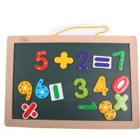 厂家直销 多功能木制质黑板 磁性益智智力 挂式画板