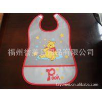 供应婴儿口水围兜 幼儿罩衣 宝宝围兜 透明围兜 防水围兜 口水兜