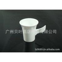 陶瓷天使杯 杯子 茶杯 餐厅酒楼酒店陶瓷餐具用品直销批发