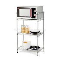 厨房整理架 三层微波炉收纳架 电磁炉层架 电饭锅置物架