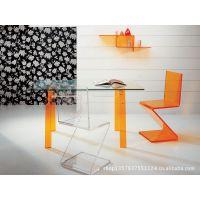 高档亚克力家具 透明有机玻璃椅子 厂家供应餐椅