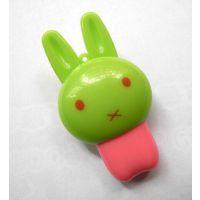 新款迷你可爱小兔子手机读卡器 小白兔TF读卡器 USB2.0高速读卡器