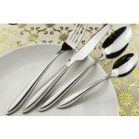 沙溪不锈钢餐具供应 不锈钢刀叉勺三件套 纸盒订做 送礼佳品