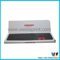 虎门印刷厂 定制双插开窗盒 开窗游戏键盘盒