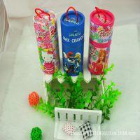 迪士尼卡通24色纸盒桶装蜡笔 学生奖品 儿童绘画专用 3024