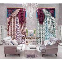 加厚隔音窗帘 现代简约卧室飘窗窗帘全遮光