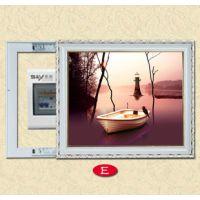 厂有直销客厅电表箱推拉装饰画 配电箱遮挡有框画壁挂画