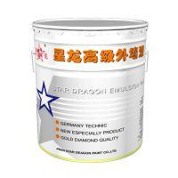 供应外墙乳胶漆施工工艺超耐候外墙漆b003济南星龙漆