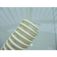 谷物输送管/耐磨塑料螺旋管/内壁平滑输料软管抗静电软管