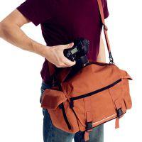 *好货源*新款复古牛皮单反相机包帆布摄影包数码包手提单肩斜跨包