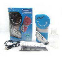 广州亮节厂家直销三色迷你掌上空调风扇 USB风扇 手持小风扇