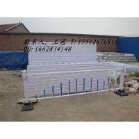 铁栅栏的具体规格 小区花园装饰铁栅 热镀锌钢管马路护栏
