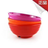 韩国进口 密胺螺型大口碗 多种颜色可供挑选 韩国餐饮用品