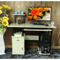 汪霖 实木板式时尚简约现代彩绘韩版风格多功能办公桌 特