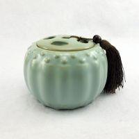 厂家直销茶叶罐 汝窑茶叶罐 汝瓷茶叶罐 现货处理 特价8699