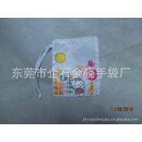 专业订做涤纶小束口袋 实用促销礼品小拉绳袋束口 不同LOGO印刷