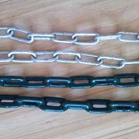深圳厂家供应优质包胶直环链|浸塑直环链|O字链 打结链