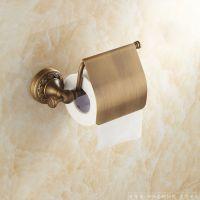 梦尔飞卫浴 欧式全铜仿古纸巾架 全欧式厕所手纸架 洗手间卷纸厕纸架 厂家长期供应