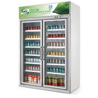 饮料冷藏展示柜/风冷/豪华型/微电脑控制/立式保鲜柜