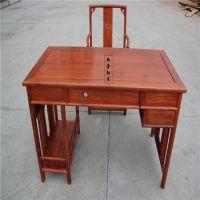 明清古典红木家具刺猬紫檀非洲花梨木电脑桌高档红木家具写字台