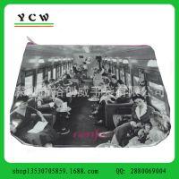 深圳龙岗手袋厂 打样 生产防水 透明PVC 光胶化妆包 笔袋