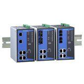 6口IEEE 802.3af/at PoE+网管型以太网交换机 MOXAEDS-P506A-4PoE