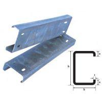 毅伽热镀锌C型钢,国内建筑企业广泛推广应用