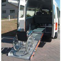 救护车防滑搭板 轮椅入车防滑板 残疾人专用入车防滑板 防滑板规格定做