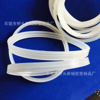 厂家直销-品质保障-透明防滑硅胶垫橡胶硅胶圈片-注塑成型加工