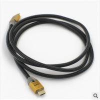 供应生产厂家 led发光音频线 HDMI1.4版 蓝光DVD连液晶电视高清数据线