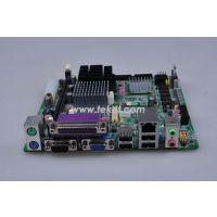 顶星ATOM N270工控主板,无风扇,6串口 带24位LVDS