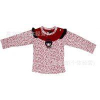 爱蒂蓓尔/Aitch pall时尚韩版女童长袖t恤儿童秋装小淑女打底衫