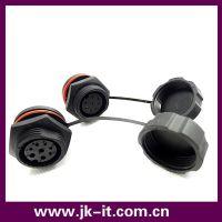 供应 IP68防水连接器 圆形工业电线电缆防水索头 防水接头