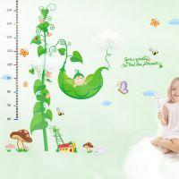 厂家定制身高贴 pvc可移墙贴 儿童墙贴纸 透明身高玻璃贴