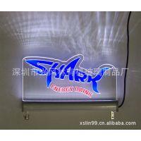 供应led发光广告牌 有机玻璃led指示标牌
