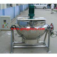 供应供应 不锈钢可倾式夹层锅 高粘度搅拌夹层锅 蒸汽电加热夹层锅
