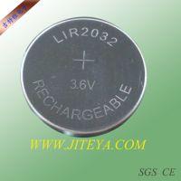 LIR2032充电电池 3.6V纽扣电池