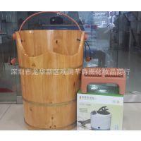 高级香柏木熏蒸桶 足浴桶蒸脚桶泡脚桶 蒸汽桶 新增支架款
