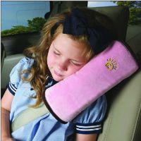 儿童安全带固定器调节器汽车用品安全带护肩套卡通棉护套