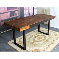 长方形餐桌椅 铁艺实木餐桌椅 酒吧桌椅