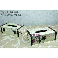 供应浪漫玫瑰情怀纸巾盒 法式奢华纸巾抽 餐巾纸盒