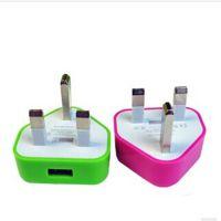 充电器 USB电源头 英规 三角英规插头充电器 香港通用配件