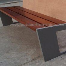 供应广场休息椅,小区实木休闲椅,户外长椅供应