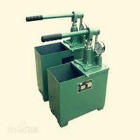 供应小巧玲珑方便移动用于测定受压容器耐压指数手动试压泵|高压手动试压泵