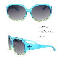 HX1086促销时尚款式太阳镜 女士太阳镜批发及定做