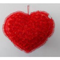 2014新款出口巴西葡萄牙语情人节送礼汽车靠枕居家装饰大红抱枕