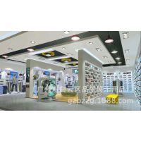 休闲品牌服装店展柜 运动鞋展示架039 男装服装高柜 木质烤漆展柜