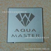 厂家订制腐蚀金色铜装饰片,氧化拉丝装饰片