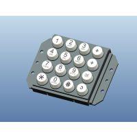 不锈钢银行机数字键盘B02