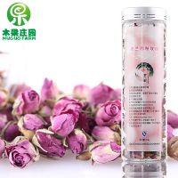 进口法兰西玫瑰花茶 进口玫瑰茶 灌装 舒缓神经 美容养颜茶现货